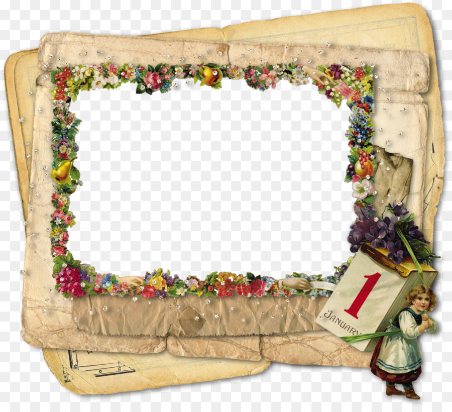 New Year\'s Day Picture Frames New Year\'s Eve - happy frame png ...