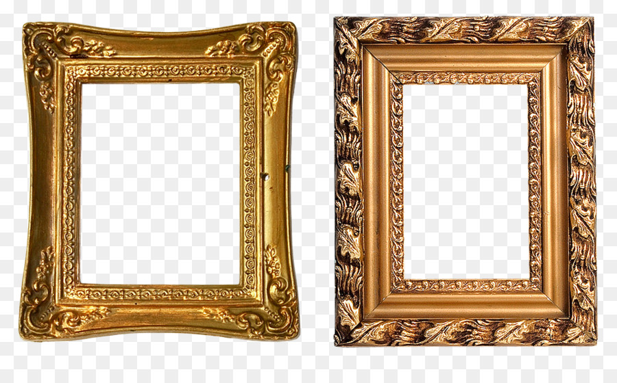Picture Frames Gold Clip art - frame gold png download - 960*584 ...