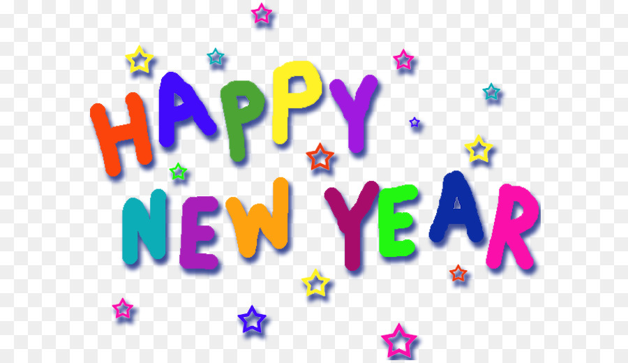 Happy New Year Wish Christmas - Happy New Year png download - 650 ...