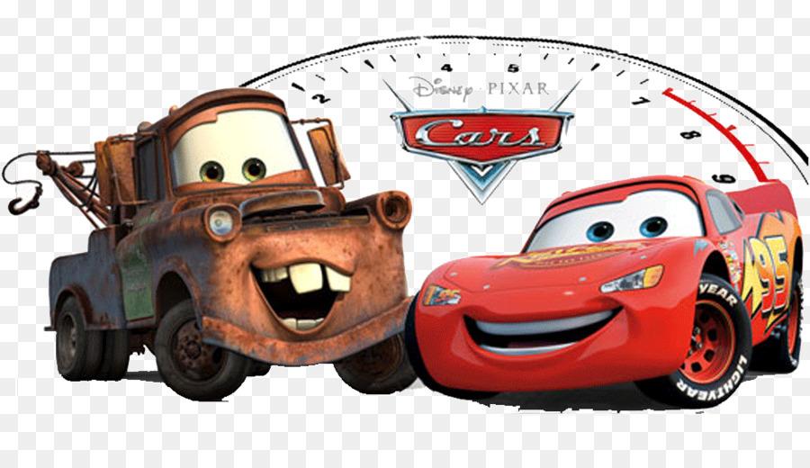 Cars 2 Mater Lightning Mcqueen Pixar Pkw 3 Png Herunterladen