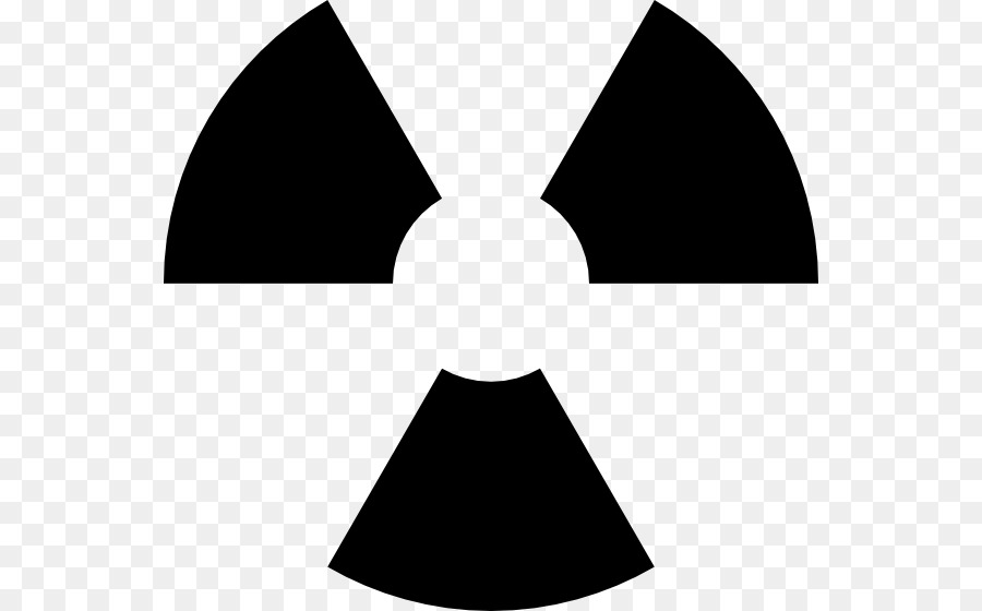 Radiation Symbol Radioactive Decay Biological Hazard Clip Art