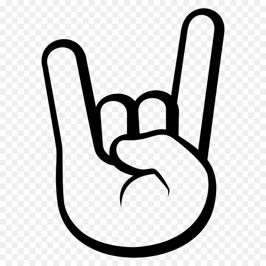 Image result for rock on emoji