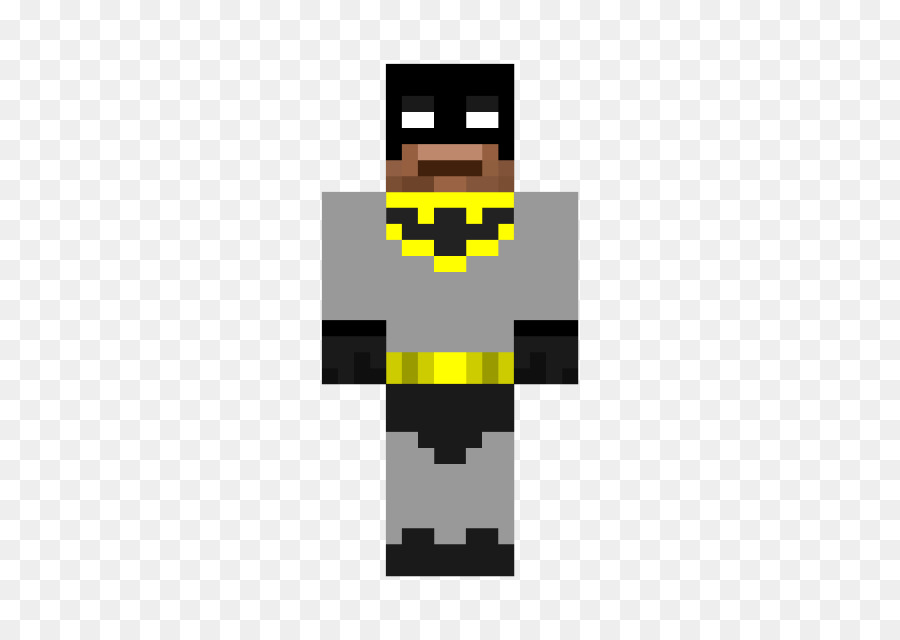 Minecraft Pocket Edition Batman Mod Skin Skin Png Download - Skins para minecraft pe de batman