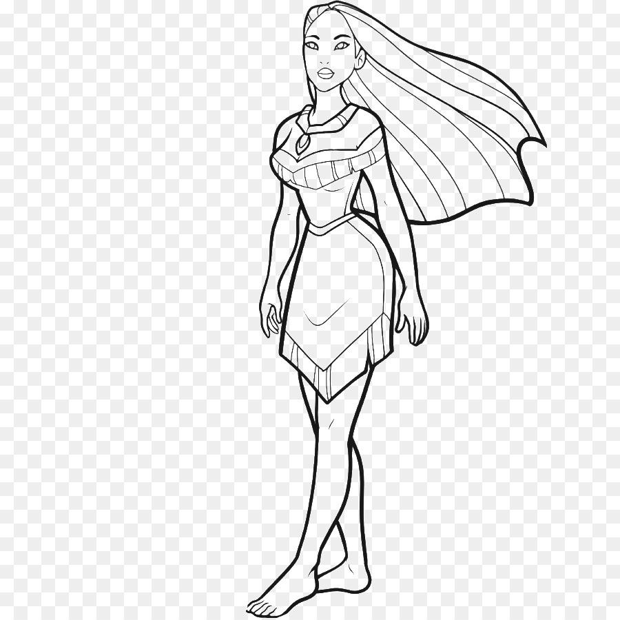 How to draw disney princesses body
