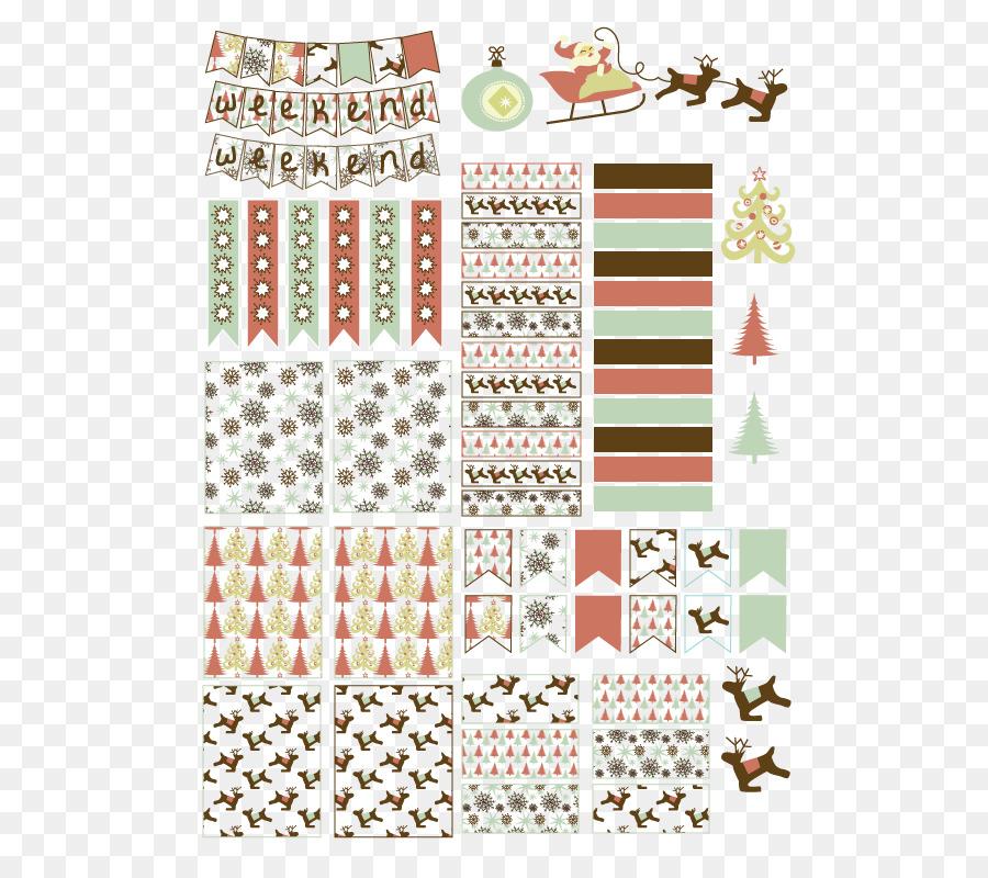 Weihnachts-Aufkleber - Drucken ohne Weihnachtsbaum - Planer png ...