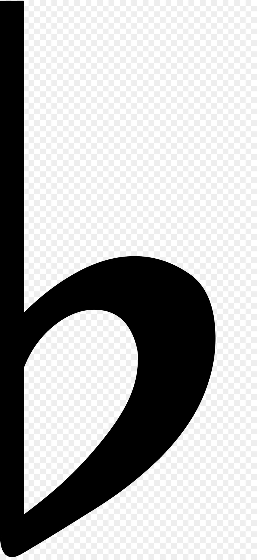 Flat Symbol Natural Accidental Musical Note Flat Png Download