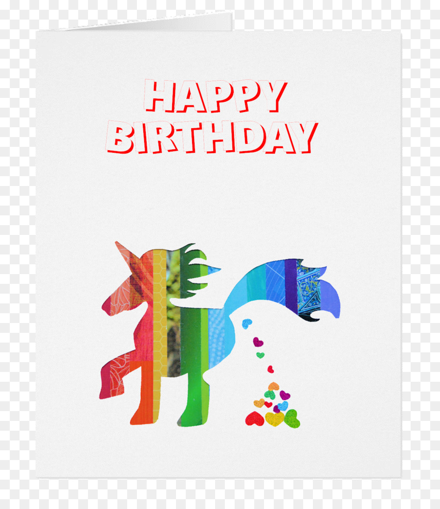 Greeting Note Cards Gift Friendship Unicorn Supporter Birthday