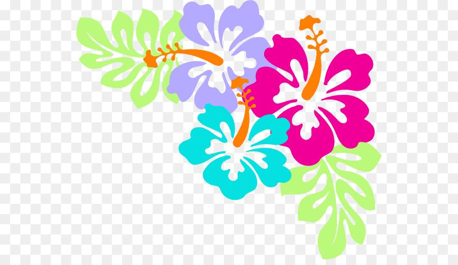 hawaiian flower aloha clip art hawaii png download 600 509
