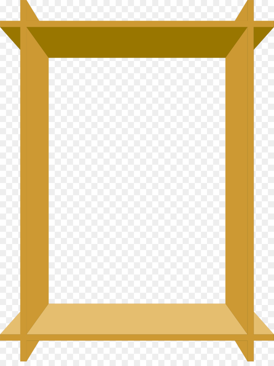 Borders and Frames Picture Frames Wood Clip art - frame vector png ...
