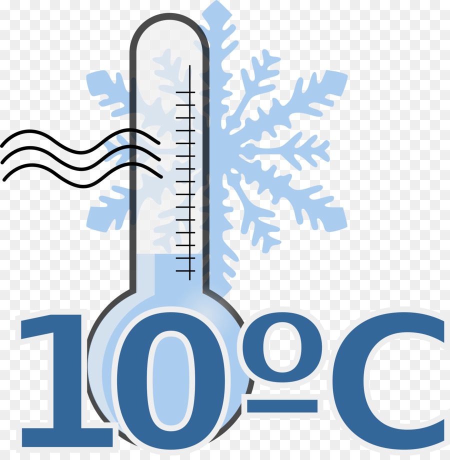 Temperature Cold Clip art - Cold Thermometer Cliparts png ...