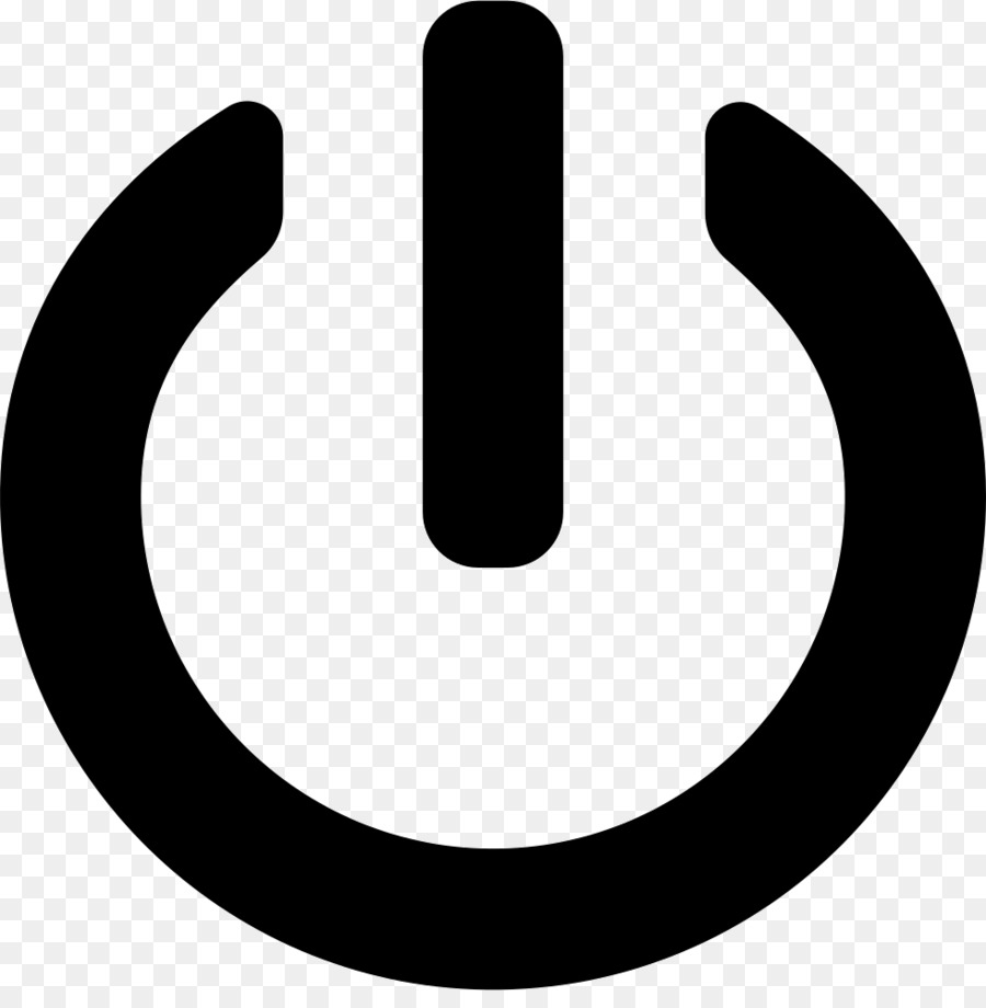 Power supply unit Computer Icons Button Shutdown - exit png download ...