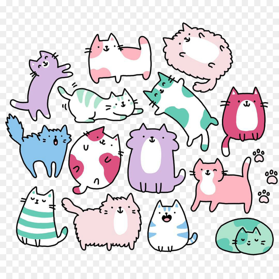 Cat Line Drawing Free