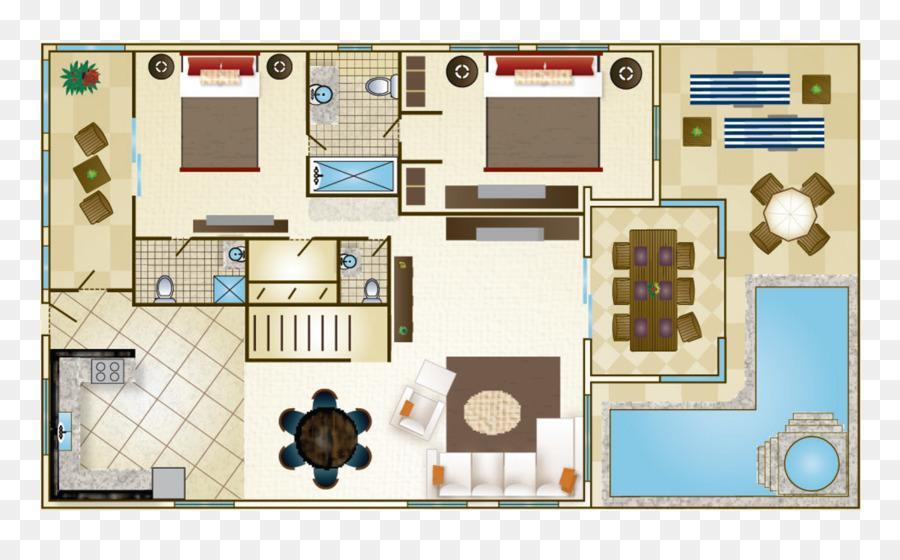 lifestyle tropical beach resort spa floor plan villa bedroom house beaches - Spa Floor Plan