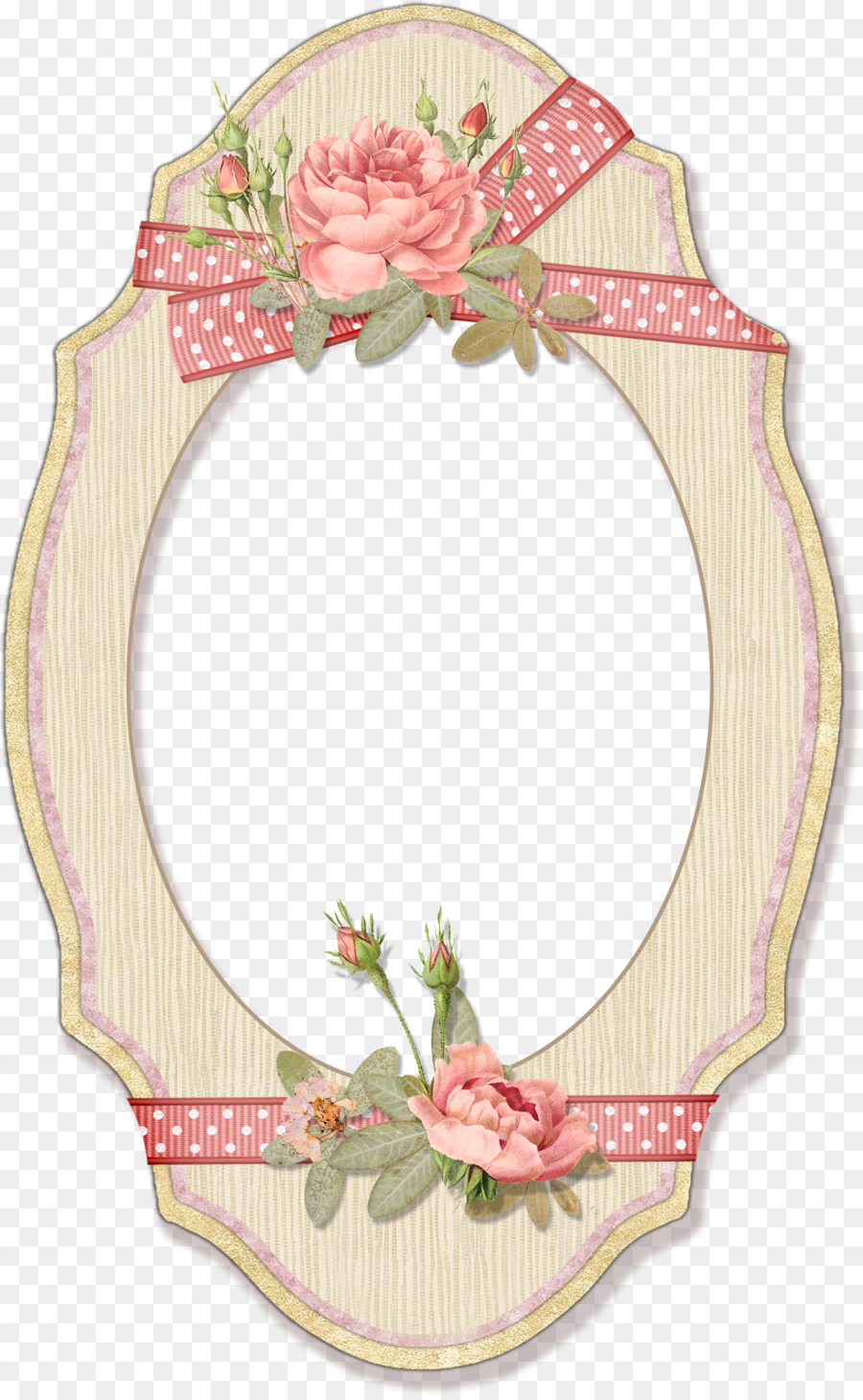 Flower Picture Frames Watercolor painting - vintage wedding png ...