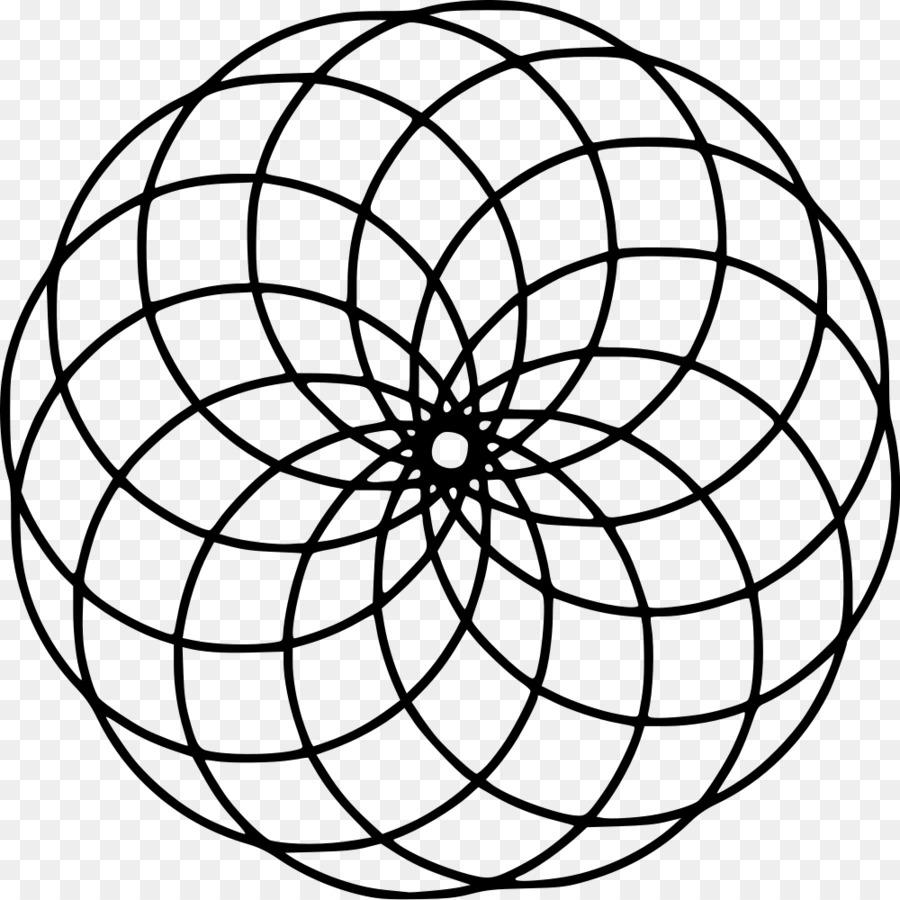 Mandala Círculo libro para Colorear de la Cultura de la Geometría ...