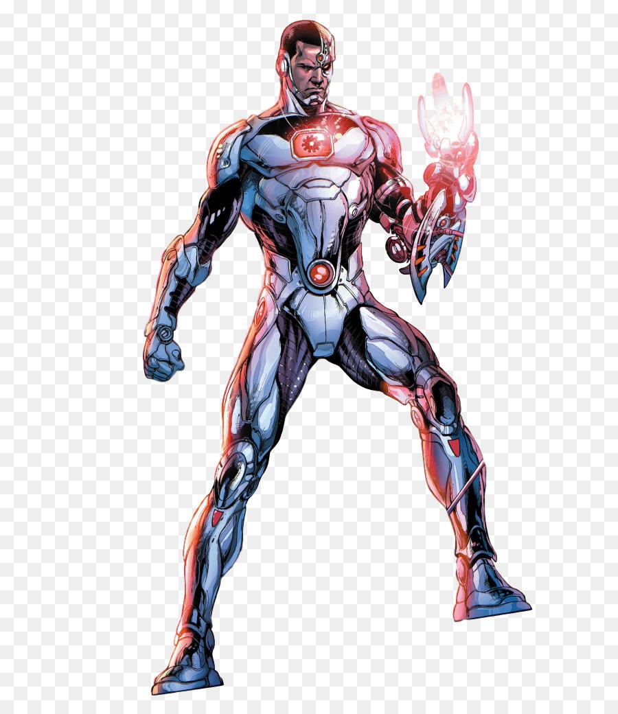 Cyborg Black Lightning Superman Superhero The New 52