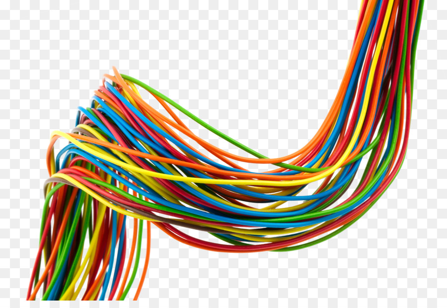 Electrical cable Electrical Wires & Cable Manufacturing - wire png ...
