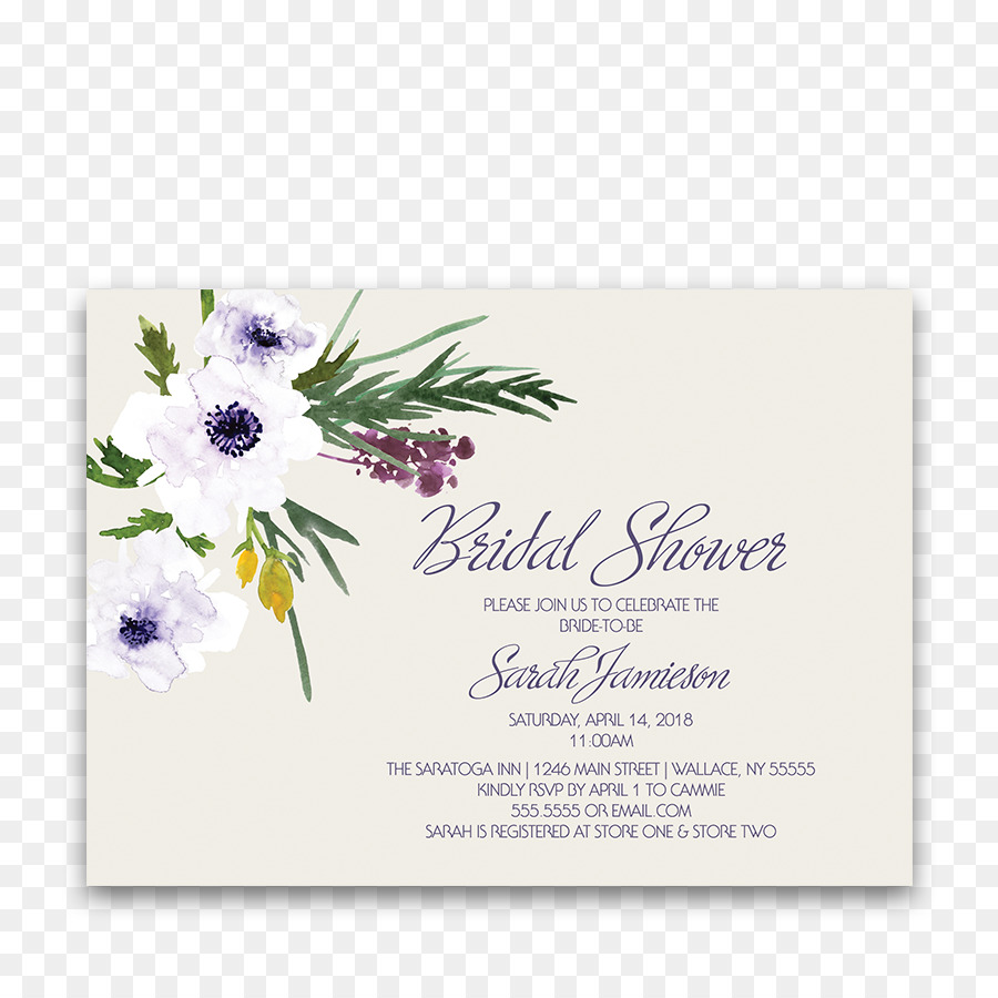 Hochzeit Einladung Blume Blumenstrauss Blumen Design Braut Dusche