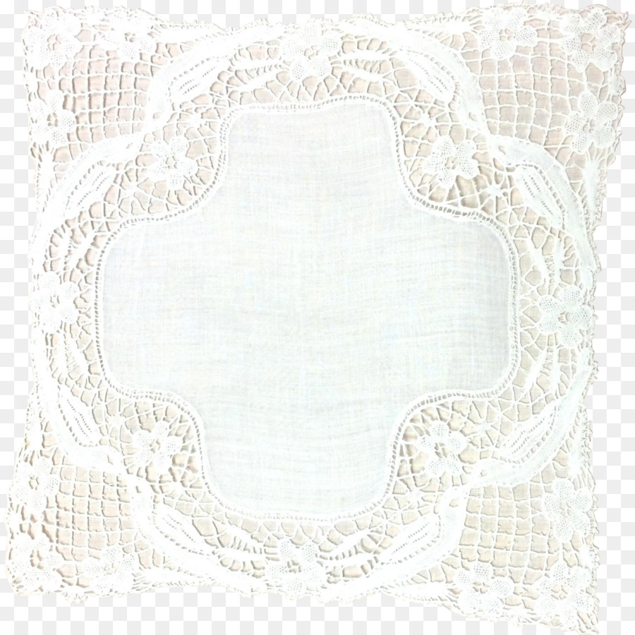Place Mats Textile Doily Rectangle - Lace Boarder png download ...