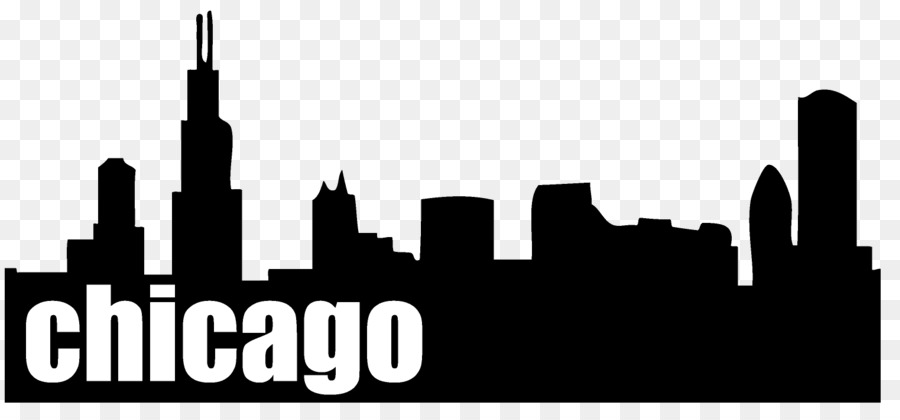 chicago drawing skyline clip art city silhouette png download rh kisspng com