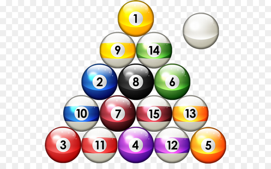 Ball Pool Table Billiards Rack Billiards Png Download - How to rack a pool table