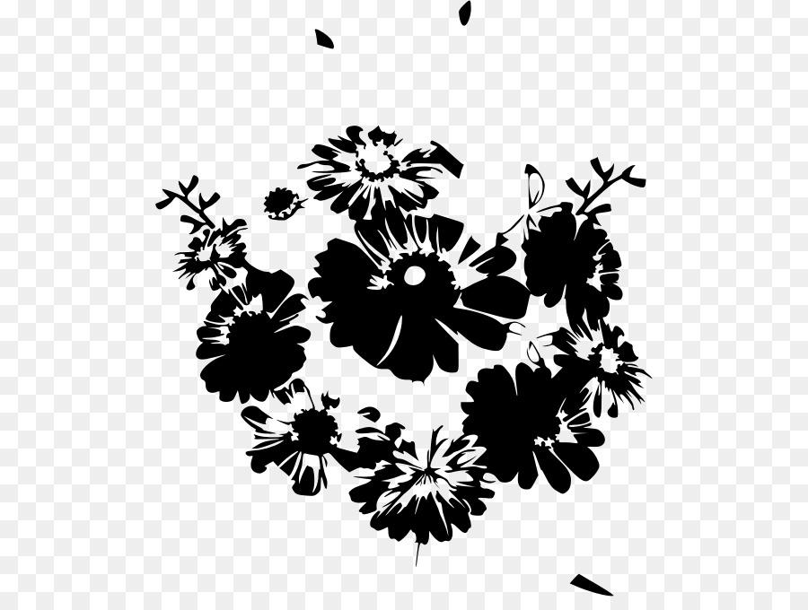 flower bouquet black and white floral design petal flower black