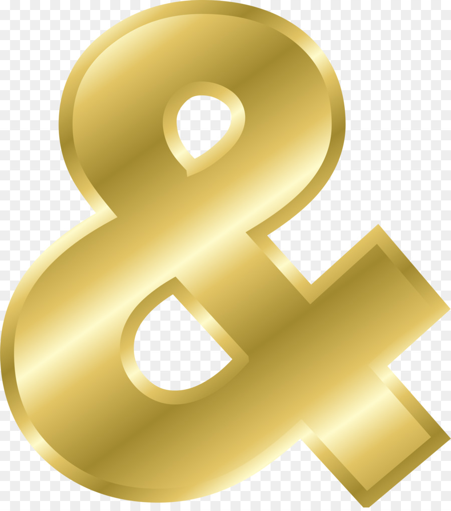 Letters & Alphabets Gold Ampersand - Gold letters png download ...
