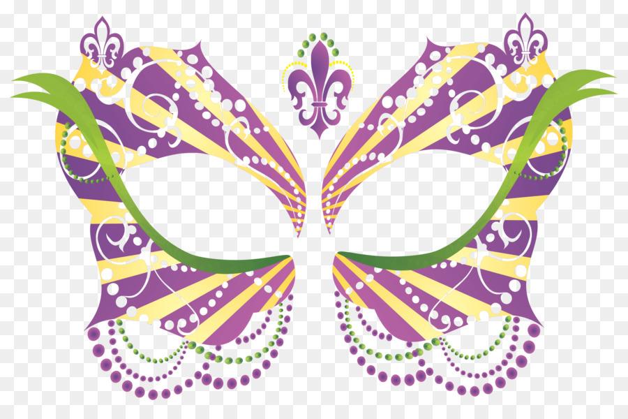 Maske Karneval Maskenball Fasching Clipart Mardi Gras Png