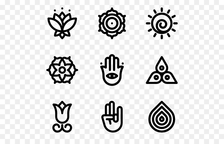Yoga Symbol Computer Icons Symbols Png Download 600564 Free
