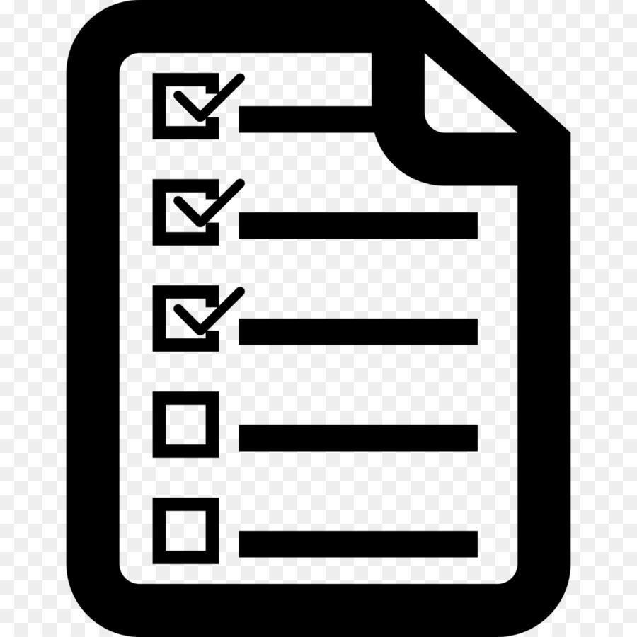 computer icons checklist clip art