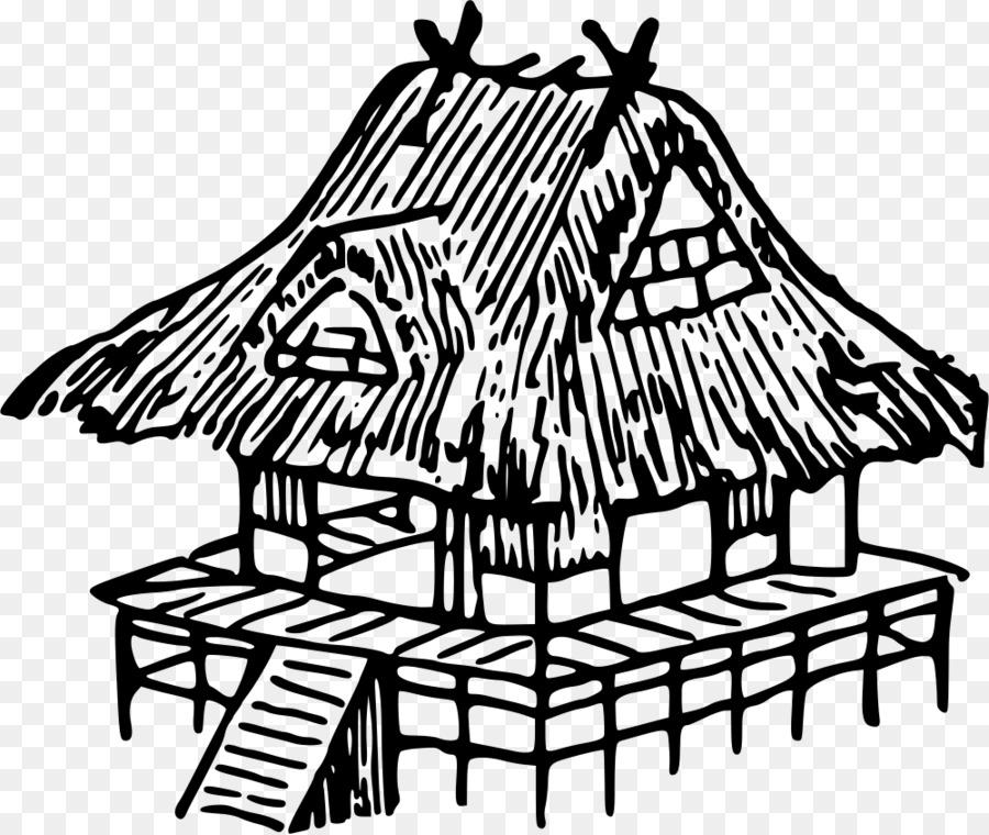 Japan House Drawing Clip Art