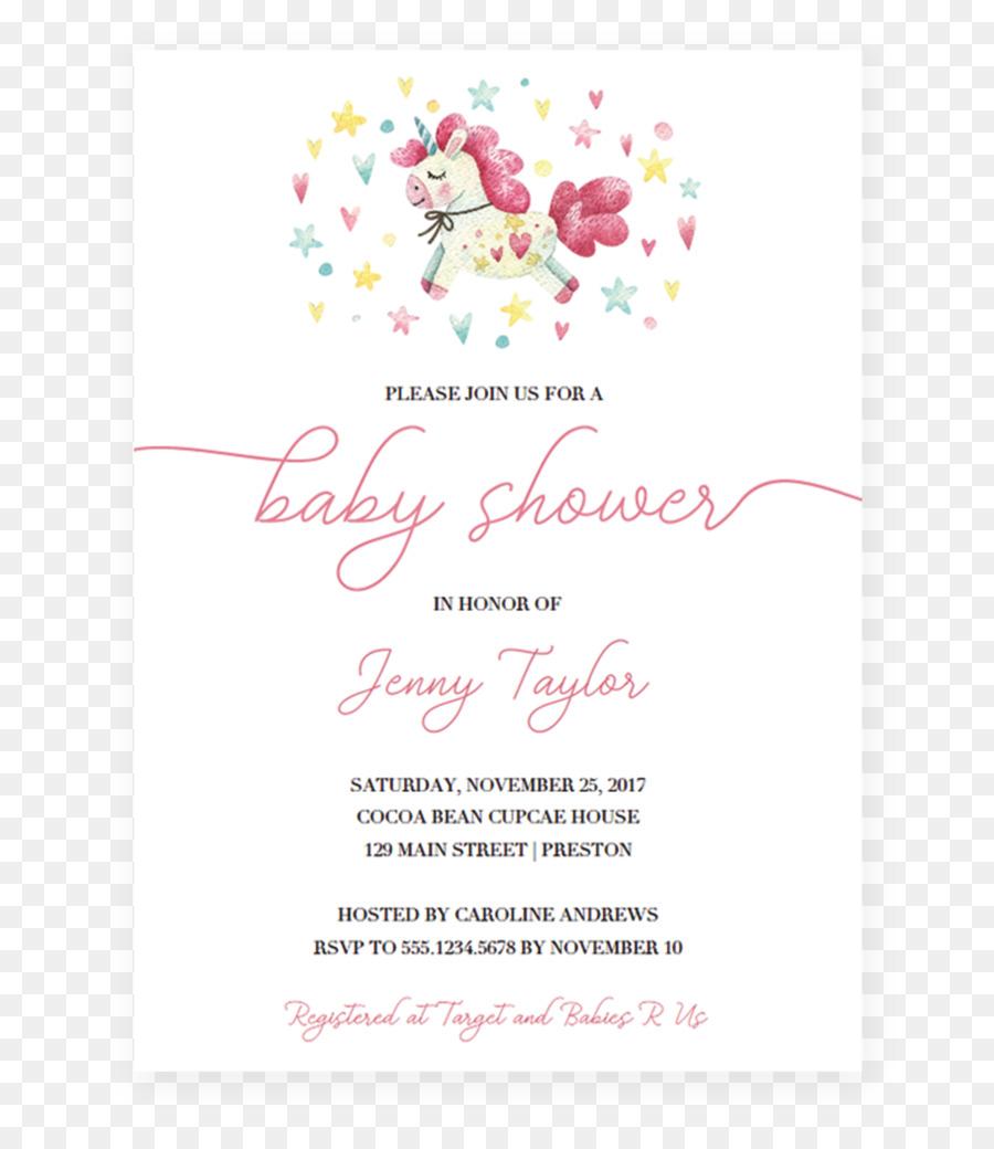 Wedding invitation baby shower flower unicorn invitations png wedding invitation baby shower flower unicorn invitations filmwisefo