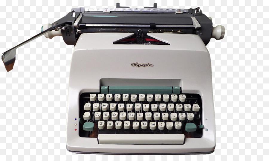 typewriter machine invention information writing typewriter png
