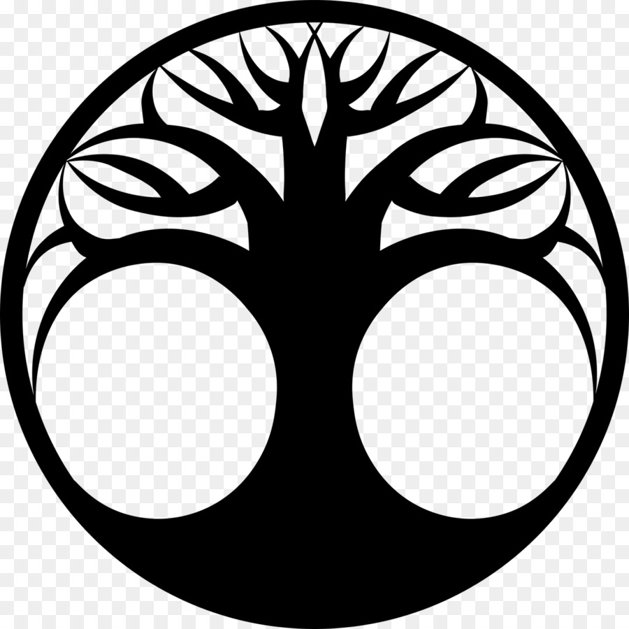 Tree Of Life Silhouette Clip Art Lucky Symbols Png Download 1280
