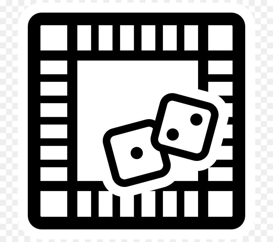 Black White Go Board Game Clip Art