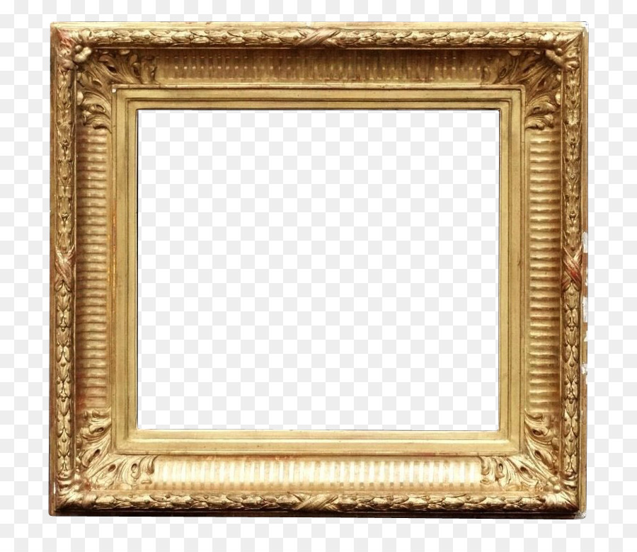 Picture Frames Gold Mirror Molding Stock photography - gold leaf png ...