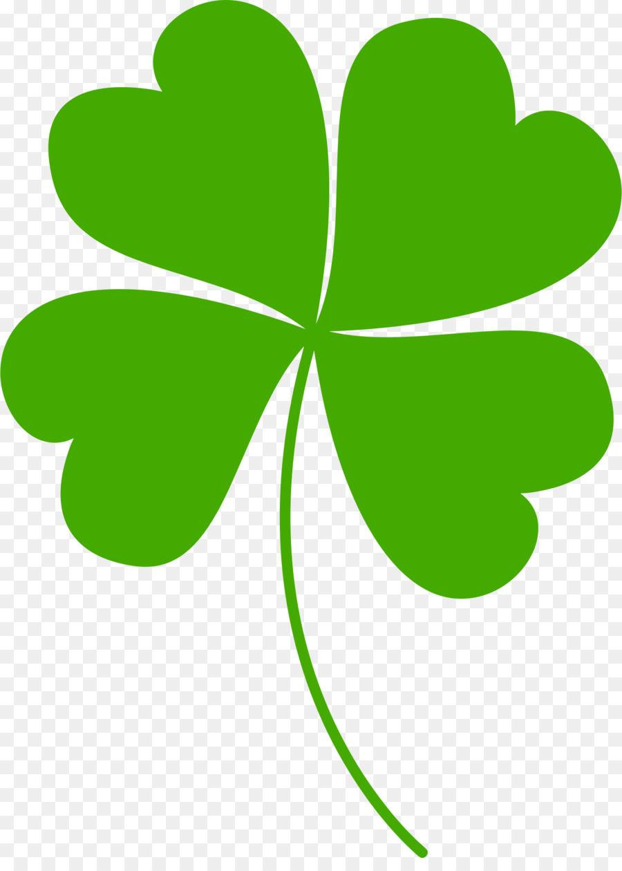 Four Leaf Clover Shamrock Clip Art Clover Png Download 17402400