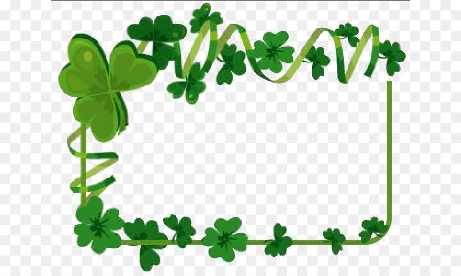 El Día de san Patricio de los Irlandeses Trébol de la Boda Clip art ...