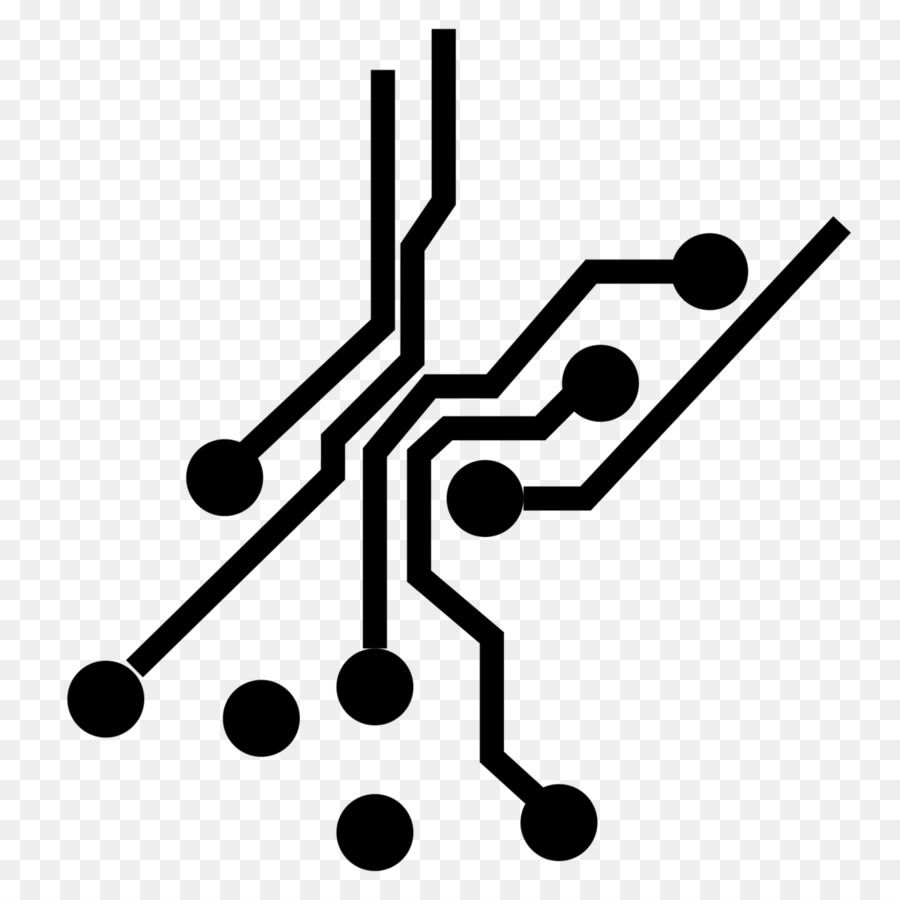 Computer Icons Electronic circuit Electrical network Electronics ...