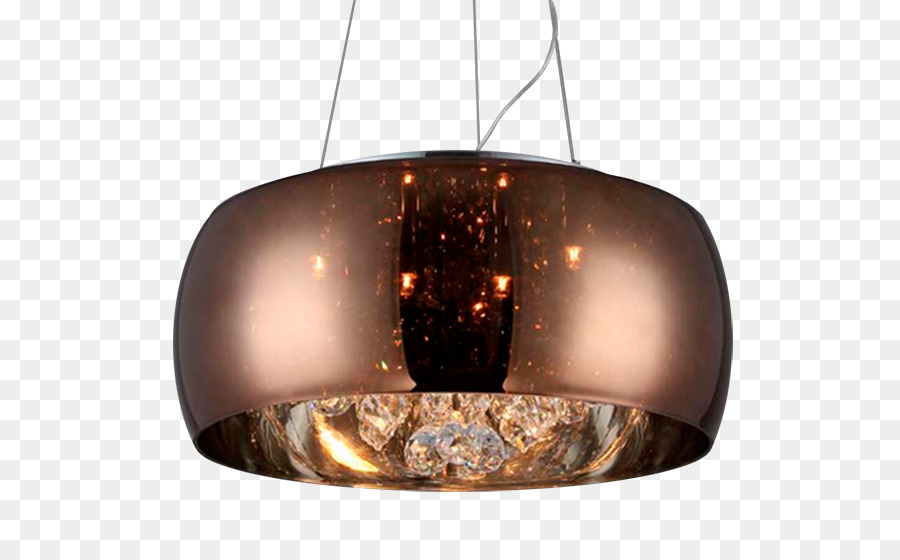 Light Pendentive Gl Dome Chandelier Re