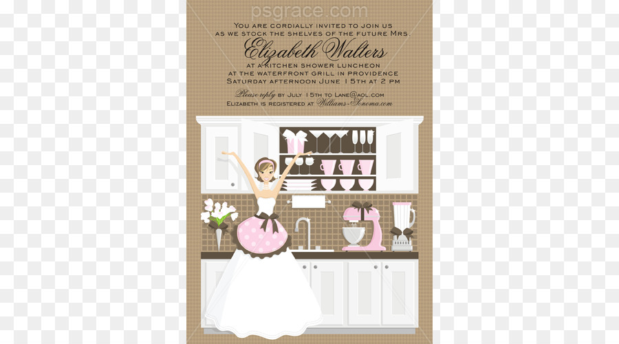 Wedding invitation bridal shower bride kitchen recipe bridal wedding invitation bridal shower bride kitchen recipe bridal shower filmwisefo