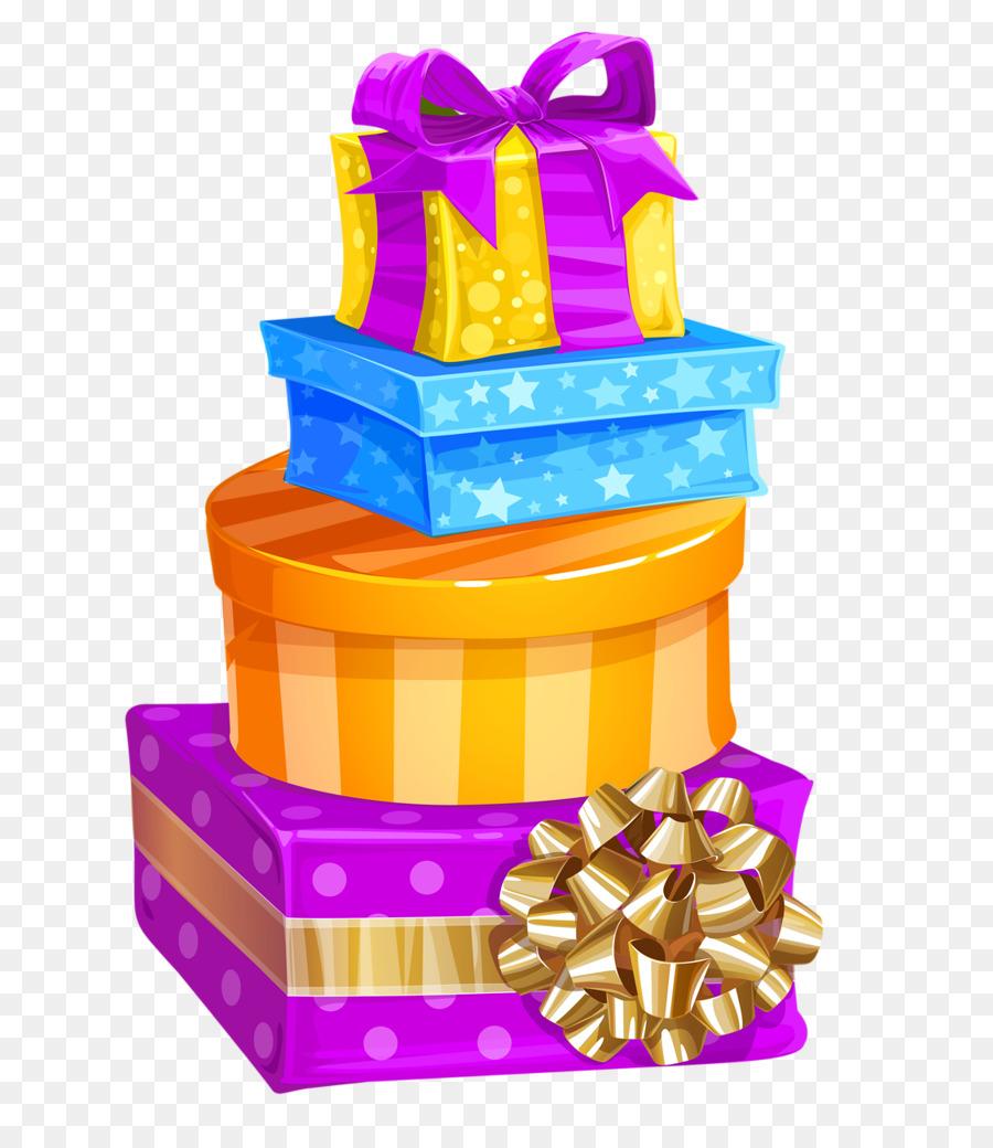 Christmas Gift Box Birthday Clip Art Birthday Gift Png Download