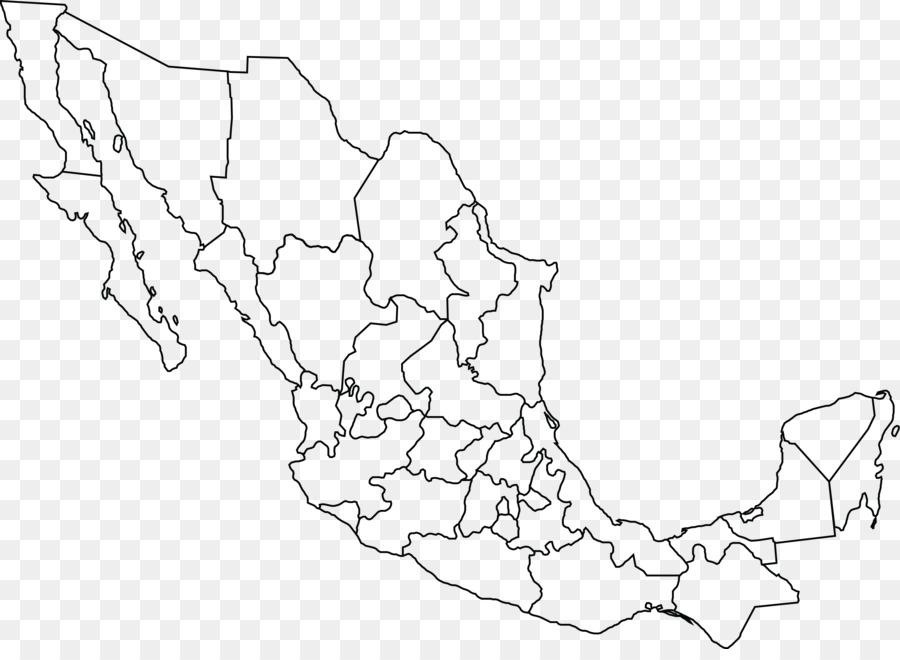 mexico united states blank map geography mexico