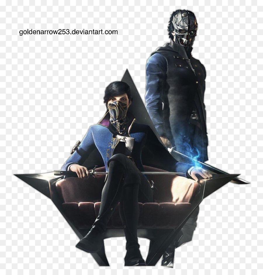dishonored 2 corvo attano desktop wallpaper video game - dishonoured