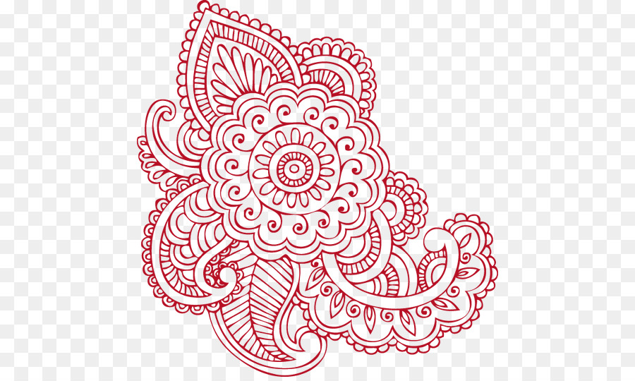 Mehndi Drawing Henna Henna Png Download 512 534 Free