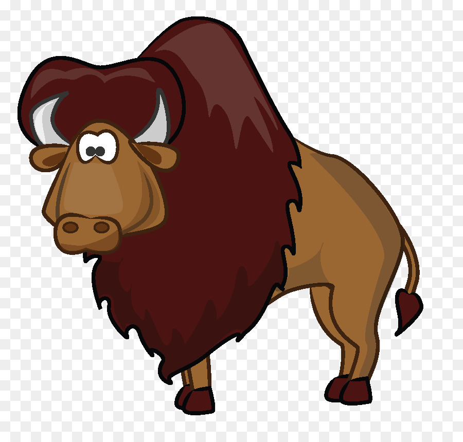 american bison cartoon clip art buffalo png download 850 850 rh kisspng com bison clip art free bison clip art free