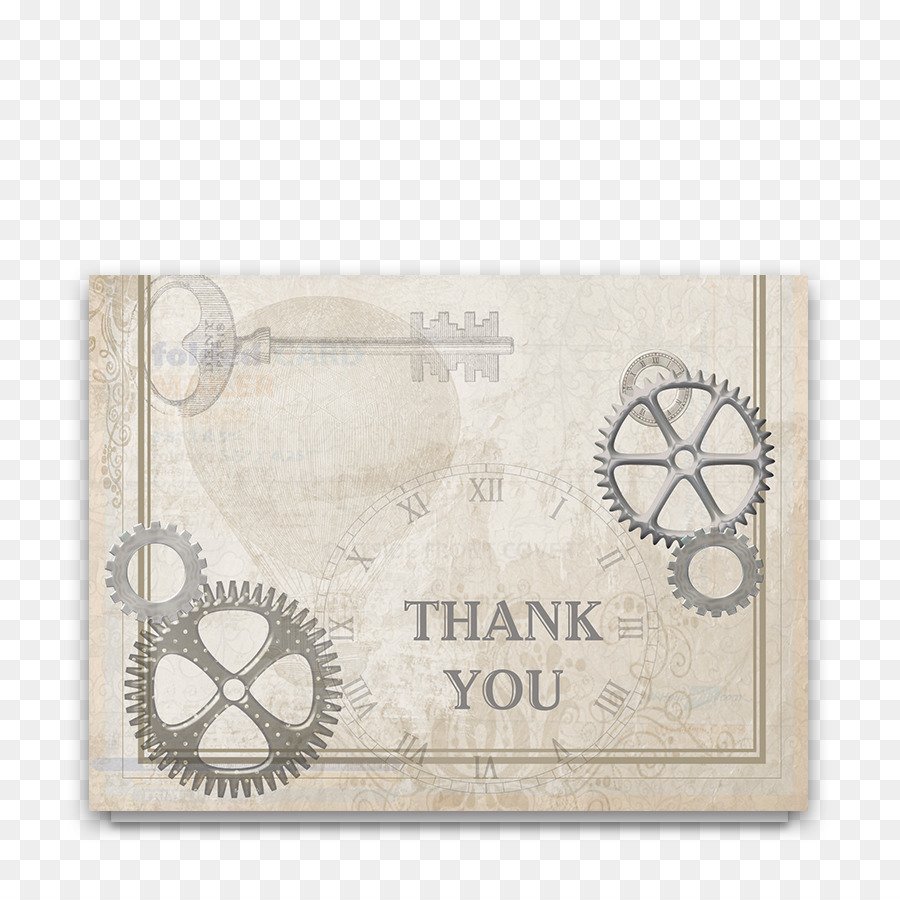 Paper Industry Wedding Industrial Style Letter Of Thanks Thank You