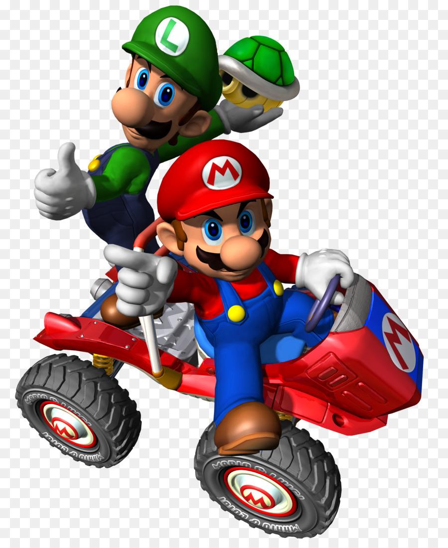 Mario Kart Double Dash Luigi Superstar Saga 7 Wii Super