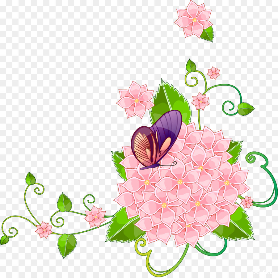 Flower Stock Photography Clip Art Floral Corner Png Download