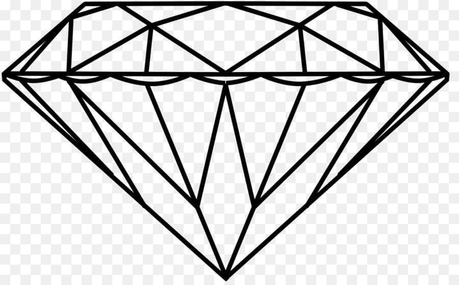 Dibujo de Diamante de Arte Lápiz Clip art - para colorear png dibujo ...